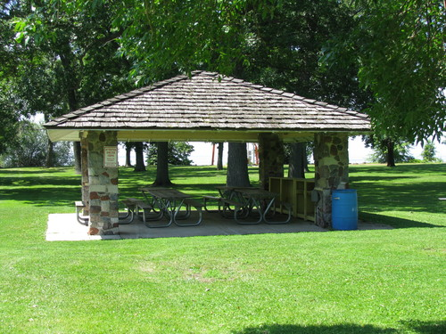 Columbia Park Shelters